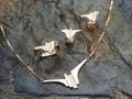 Handgemaakte gouden halssieraden / halsketting